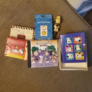 Lot of Snoopy memorabilia